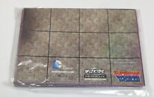 Heroclix Superman / Wonder Woman set OP Kit 2-Sided Map! Olympus / Daily Planet