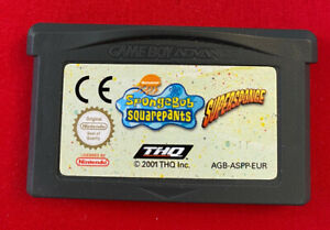 SpongeBob SquarePants SuperSponge Cart Only Nintendo Game Boy Advance TESTED