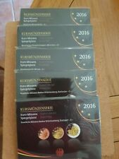 Germany 2016 EURO COIN SETS