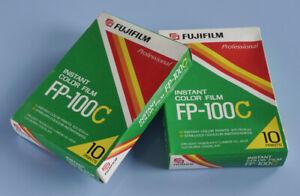2 Packs Fuji Instant Color-Filme Professional 10 Fotos pro Packung 10 x 7cm