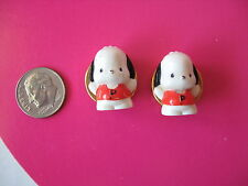 Sanrio Pochacco Button Covers Set Of 4 1976/1993 Vintage New
