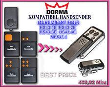 620 615 433,92 MHz télécommandes télécommande compatible avec TORMATIC GTA 610