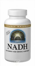 Source Naturals NADH 5mg Co-E1Â Enteric Coated Blister Pack/Box - 90 tab