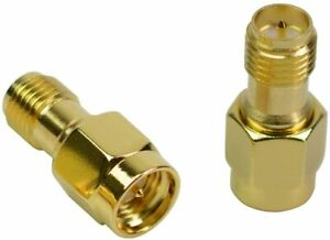 SMA Male to RP-SMA Female Jack Straight Adapter Connector; US Seller