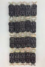 20 Unit Lot of Medical / Commercial Electrical Outlet Receptacles - 20A 125V