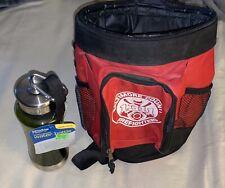 Vintage Cooler Bag-Baltimore County Firefighters Logo w/ H2O Bottle