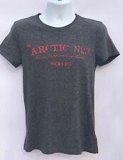Men's H&M L.O.G.G. Gray Graphic Crew Neck Short Sleeve T-Shirt Size: Small
