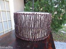 Lg Modern Organic Chandelier Ceiling Light Earth Sticks Wood Rustic Regency