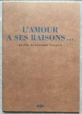 Dossier de Presse L'AMOUR A SES RAISONS Robert De Niro MONICA BELLUCCI *e