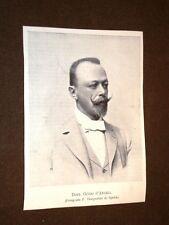 Il Dottore Guido D'Angeli nel 1897