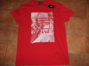 G-STAR RAW MENS DESIGNER T-SHIRT/TOP,SIZE XL,NEW WITH TAGS,FREE UK POST