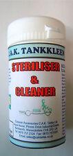 FRESH WATER TANK CLEANER & STERILISER - CARAVAN/ MOTORHOME/ BOAT SYSTEM PURIFIER