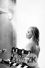 CARROLL BAKER Erotique GUERRIERI Douche CLAP Tournage Photo 1968