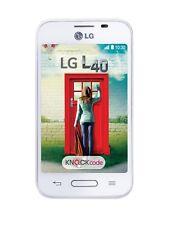 LG L40 in White Phone Dummy Dummy - Requisite, Decor, Advertising, Exhibition