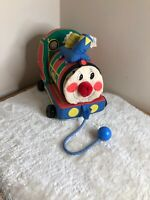 Rare Vintage BOOTS PUFFING BILLY activity sounds TRAIN PLUSH Thomas Retro Baby
