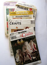 Sewing Patterns Vintage Lot Crafts Decorations Simplicity McCall's Butterick