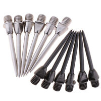 Set of 12 Hammer Head Dart Tips Standard Moveable Dart Points Replacement 30mm
