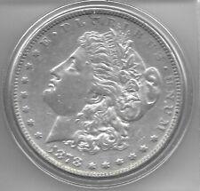 1878 AU+ MORGAN  DOLLAR
