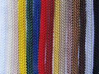 SILKY SCROLL GIMP BRAID 50 METRE REEL Trim for Upholstery Furnishings Costumes