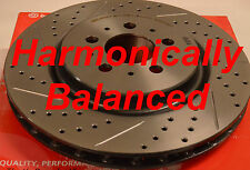 Made From Brembo Rotors Drilled Slotted Hamoincally Balanced Fits S60R V70R Rear