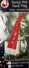 2.17 Meter High Christmas Yard  Garden Flag With Stand