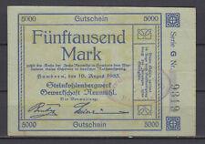 Hamborn - Steinkohlenbergwerk Trade Union Neumühl - 5 Tausend Mark