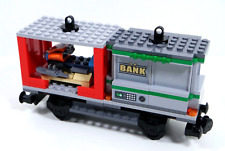 LEGO City Cargo Train Container Wagon with Bank Vault & jet ski from 60198.