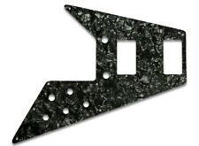 NEW - Pickguard For '67 Reissue Series Gibson Flying V - BLACK PEARL