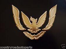 New 1993-1994-1995-1996-1997 Pontiac Firebird-Trans Am Front Bumper Emblem-Gold.