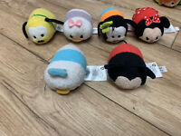 Disney Tsum Tsum Collection - Mickey & Minnie Mouse, Donald & Daisy Duck, Goofy