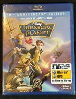 Treasure Planet Bluray 2012 2 Disc Set 10th Anniversary Edition Disney