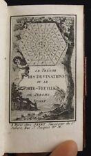 Le trésor des devinations ou le porte-feuille de Jérome Sharp