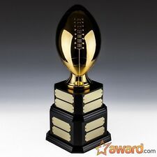 Fantasy Football Trophy Perpetual - 16 Years - Gold Life-sized- Free Engraving!