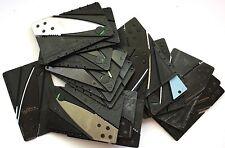 18 Credit Card Knife Sized Folding Wallet Survival Knives SHARP! MSRP $90.00