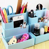 New Paper Board Storage Box Desk Decor Stationery Makeup Cosmetic Organizer Case