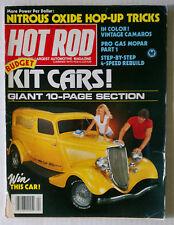 HOT ROD MAGAZINE VINTAGE 1981 APRIL CHEVY FORD MOPAR GM RACING