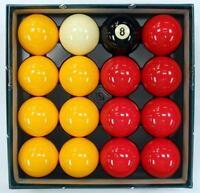Aramith Casino Pool Ball Set, Full Set of 16 Balls, 2 1/4 inch, FREE US SHIPPING