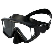 Promate Panoramic 3-Window Scuba Dive Purge Mask Snorkeling Goggles Wide-View