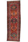 Vintage Persìan Sarab Runner 3'x10' Red Wool Tribal Hand-Knotted Oriental Rug