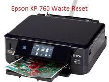 EPSON XP-760 PRINTER WASTE INK PAD RESET DISC NEW