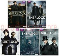 Sherlock Complete Series All Seasons 1-4 DVD Set Collection Show TV Episodes BBC