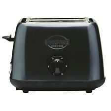 Heritage 2 Slice Toaster Stainless Steel Grey Defrost And Cancel Buttons