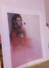 Ozz Franca - Cecy - Signed Numbered Lithograph 1183/1500