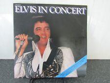 """ELVIS PRESLEY 2 x 12"""", L.P.s, 33 rpm, ELVIS IN CONCERT (Double Album) 1977"""