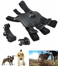 Hound Dog Fetch Harness Chest Strap Belt Mount For GoPro Hero 4 3+ 3 2 1