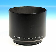 Pentax Takumar 49 E  1:3,5 135mm 1:4 150 mm Telegegenlichtblende - (203473)