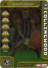 2018 LIMITED TEAMCOACH DARCY MOORE GOLD #15 COLLINGWOOD GAME CODE CARD
