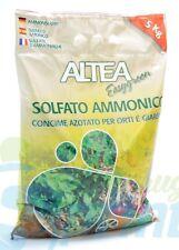 SOLFATO AMMONICO in sacco da 5 kg concime per orti e giardini