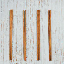 ORGANIC COCONUT CHOPSTICKS HANDCRAFTED VEGAN NATURAL CHOPSTICKS SET OF 4