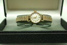1970's Ladies Solid 9ct Gold Smiths Bracelet Watch